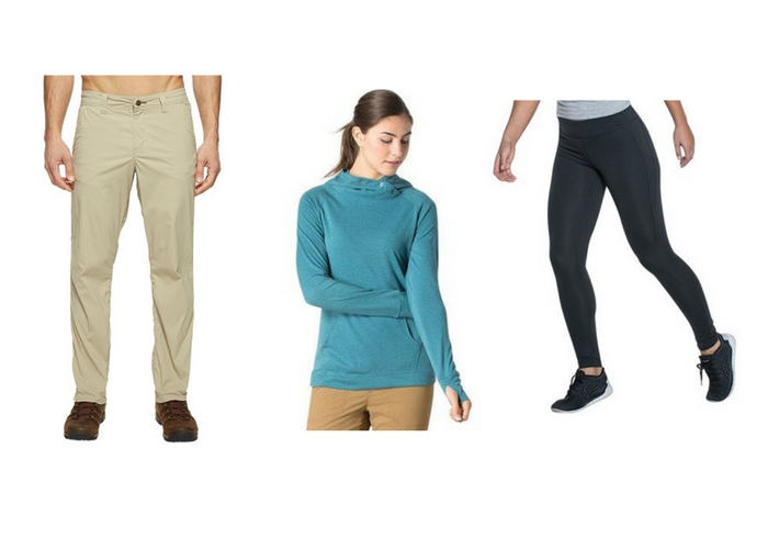 clothes for spring travel