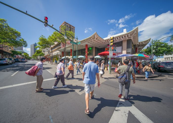 Honolulu Bans Texting While Crossing the Street