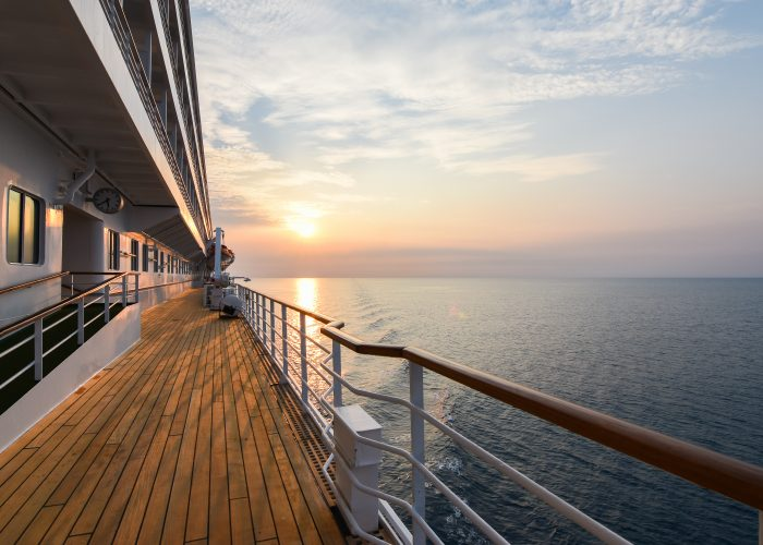 Cruise ship deck / cruise cabin upgrade