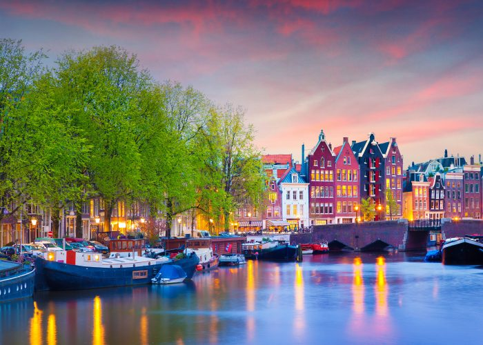 European dream destinations amsterdam netherlands