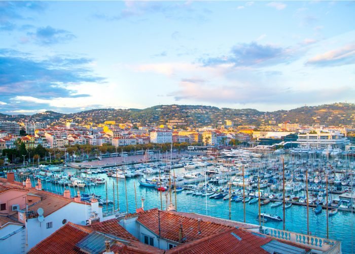 European dream destinations cannes france