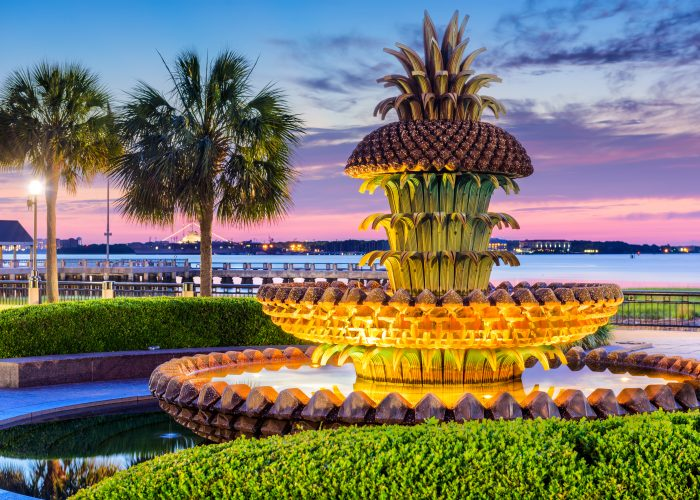 affordable summer destinations charleston