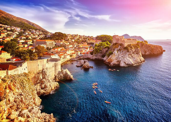 European dream destinations dubrovnik croatia