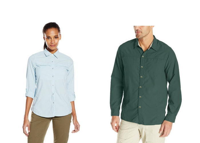 ExOfficio bugsaway button-downs