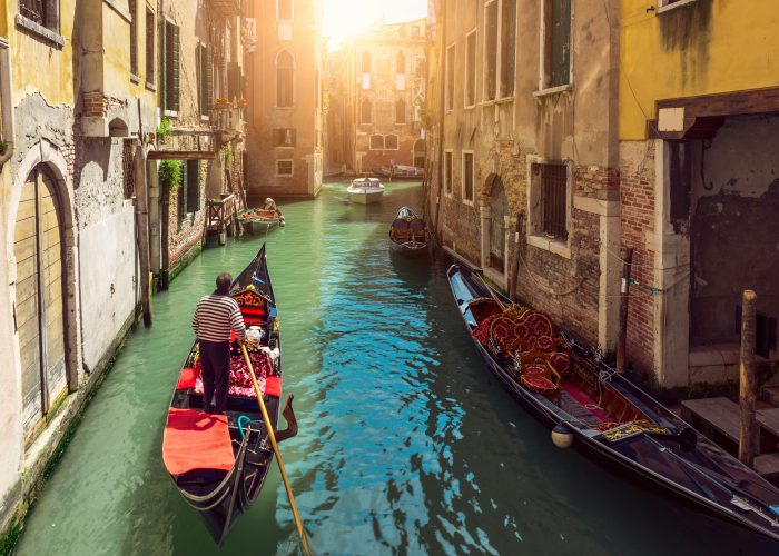 European dream destinations venice italy
