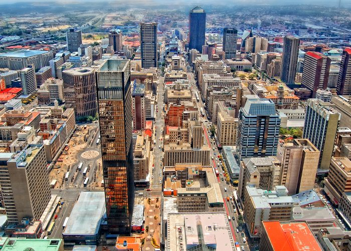 Johannesburg Warnings and Dangers