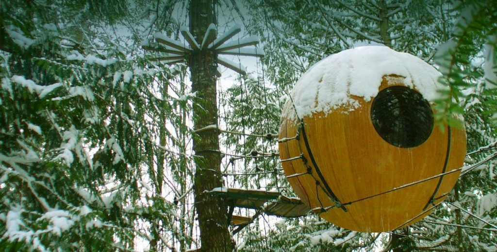 treehouse hotel spheres