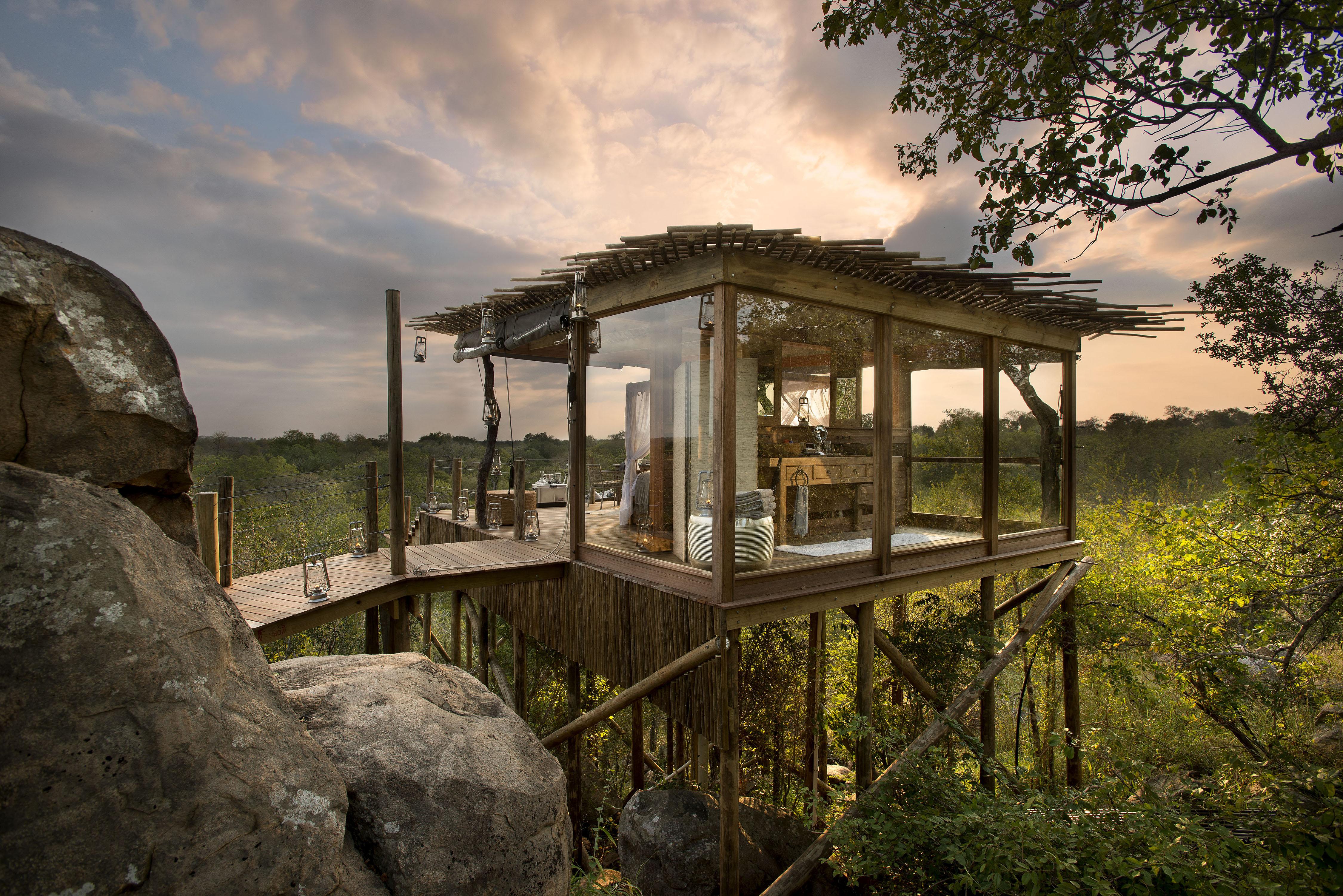 Lion sands treehouse hotel