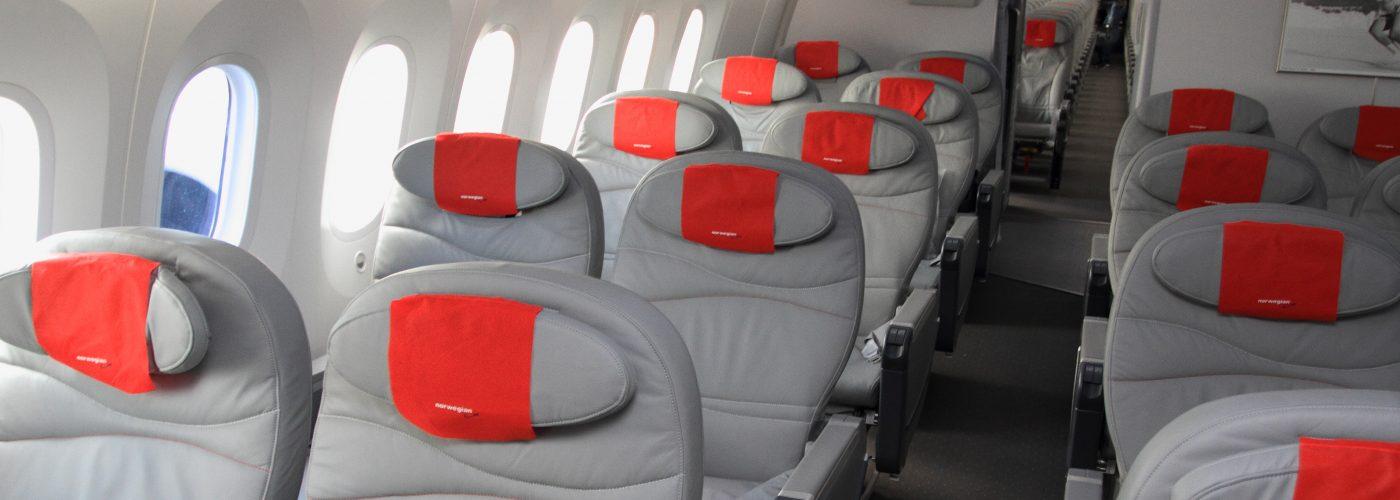 norwegian air business class