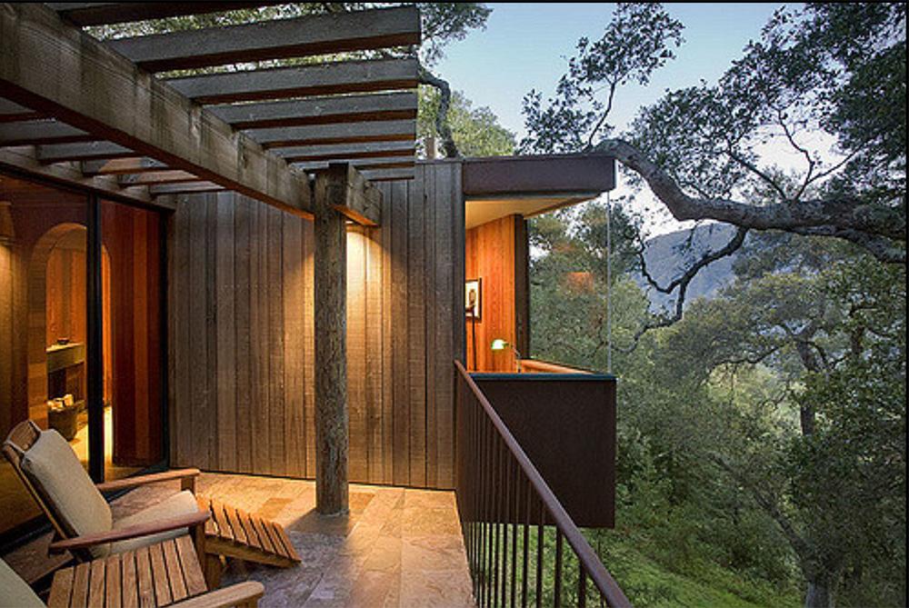 tree house hotel post ranch inn