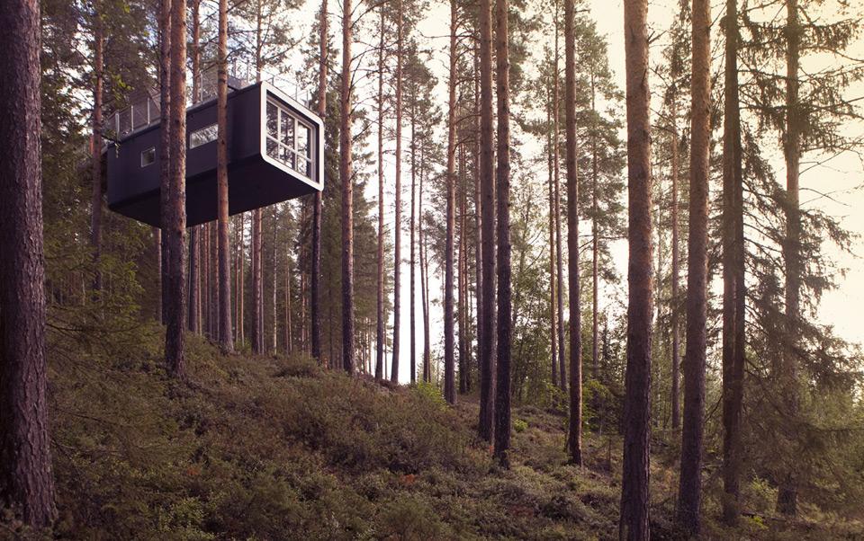 treehotel treehouse hotel