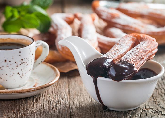 churros and chocolate spain