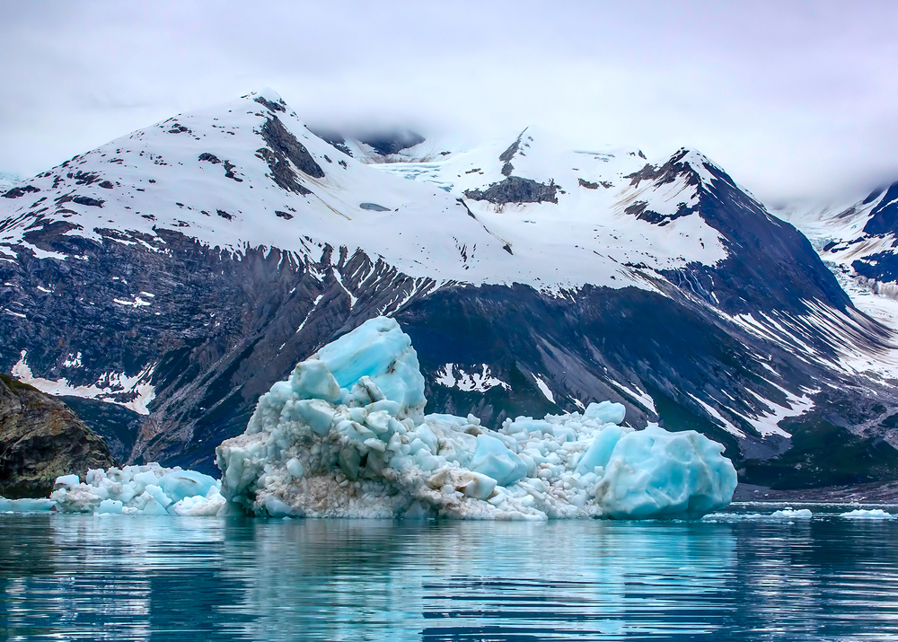 Daytime in glacier bay