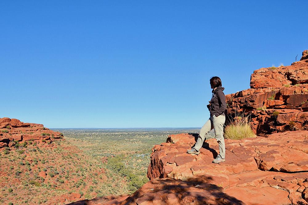 hiker australia