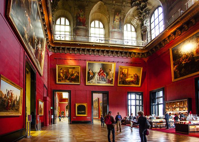 louvre art museum paris