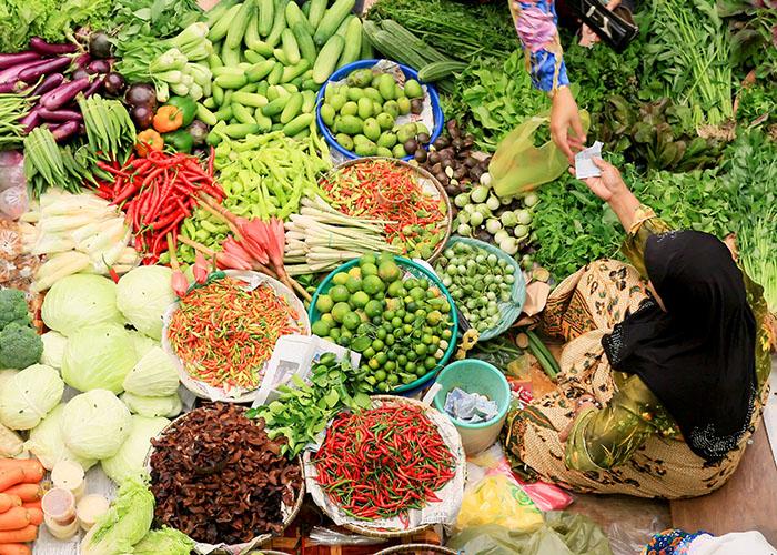 malaysian food market