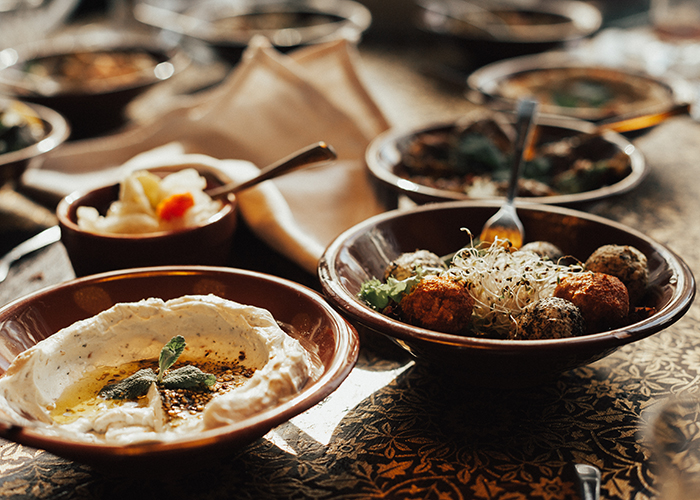 meze in middle east