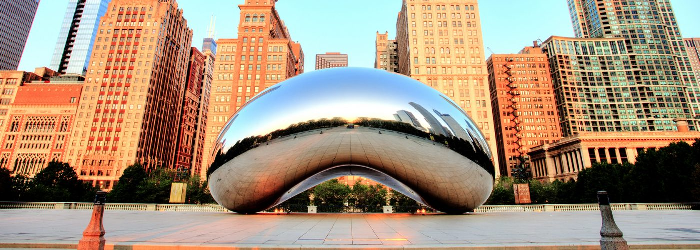 chicago cloud gate bean