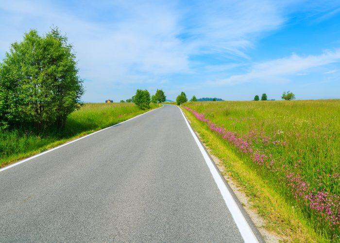 scenic road poland