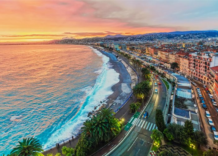 Warnings and Dangers in Nice:Dangerous Areas