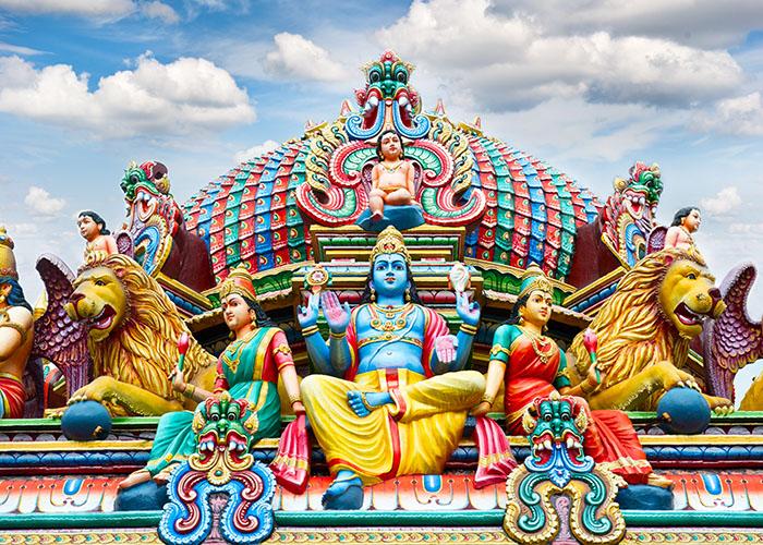 colorful temple singapore