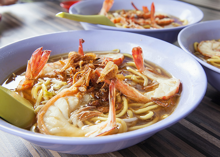 prawn noodle soup singapore