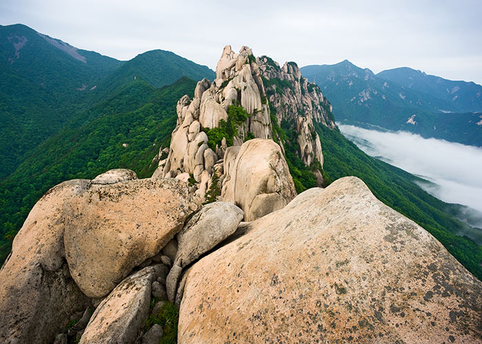 ulsanbawi rock south korea