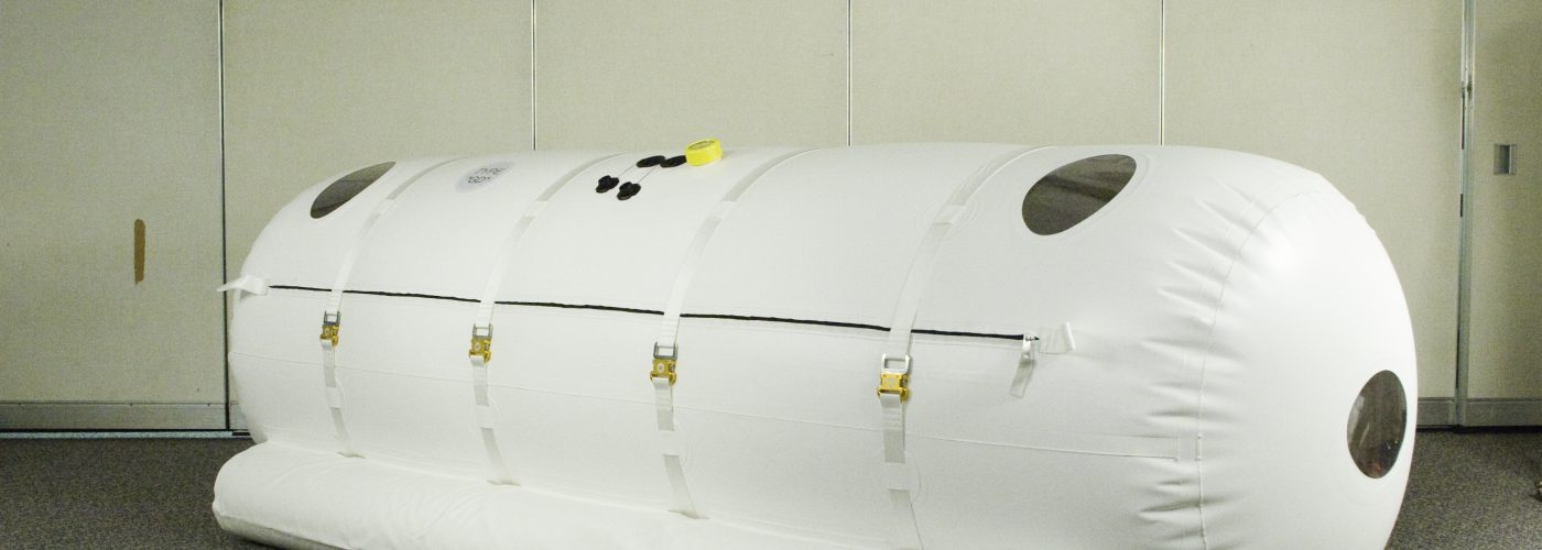 mild hyperbaric oxygen treatment chamber