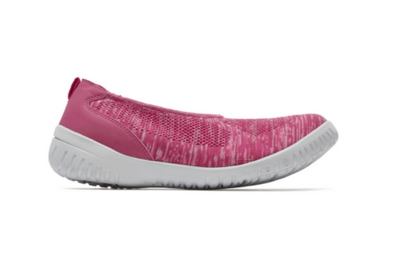 Rockport Raelyn Knit Tie Sneaker And Ballet Flats