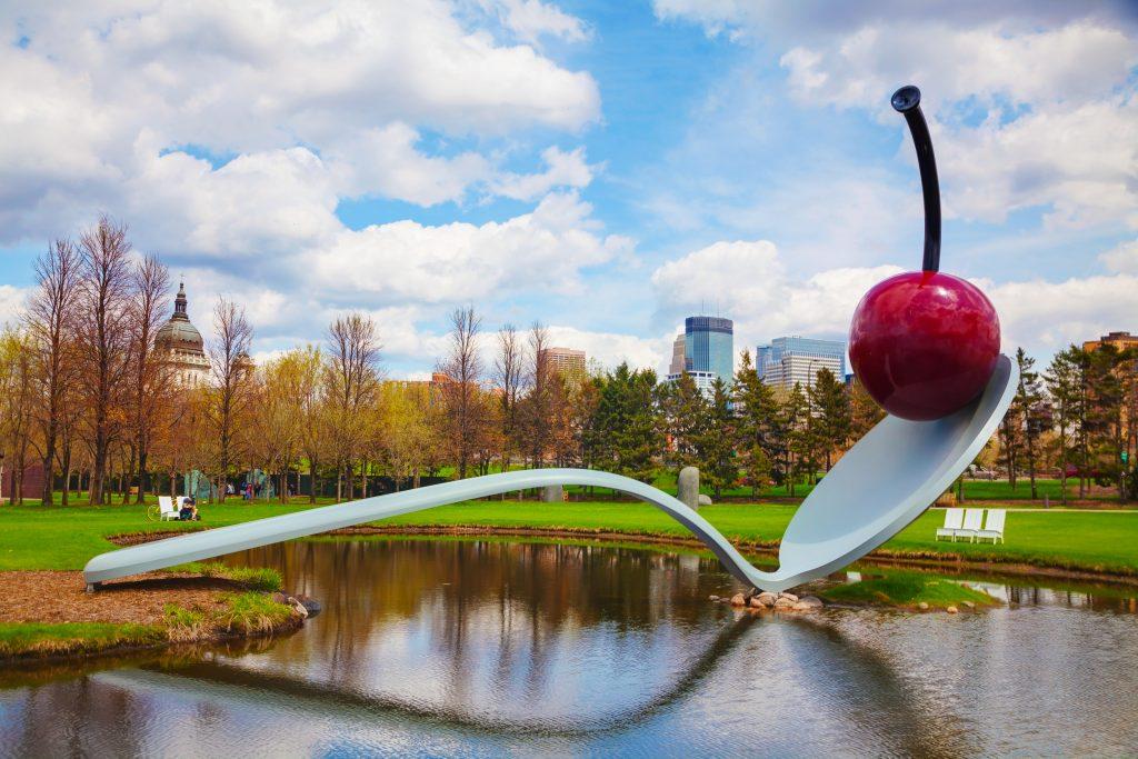 Minneapolis art spoonbridge