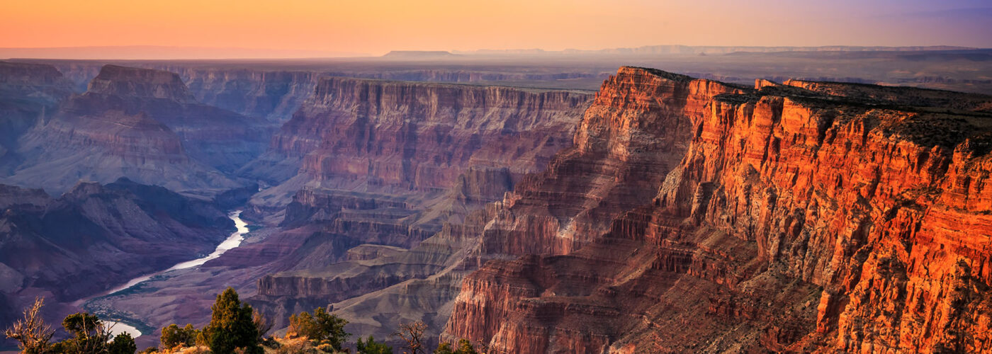 grand canyon sunset.