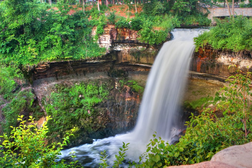 Minneapolis parks minnehaha falls