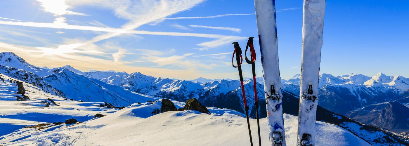 winter ski vacation