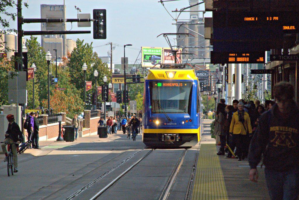 Minneapolis people tram