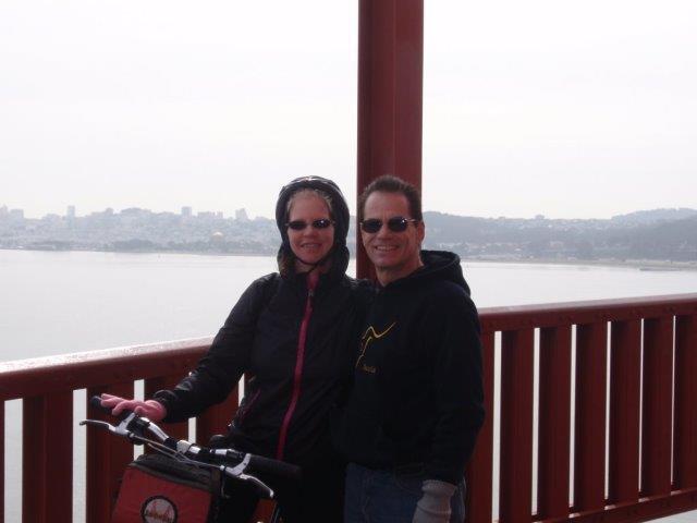 golden gate bridge bikes
