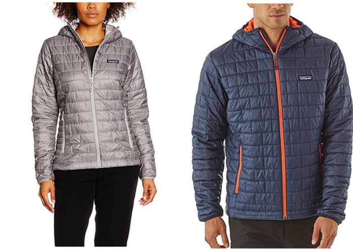 Patagonia primaloft nano winter lightweight puff coat
