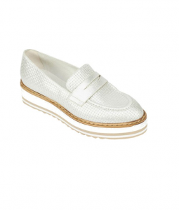 Summit by White Mountain Women's Bethania Platform Loafer