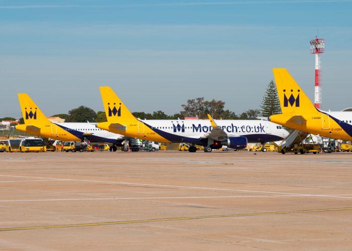 airline shutdown Monarch