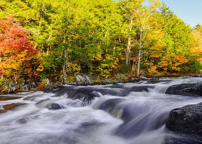 autumn kejimkujik national park