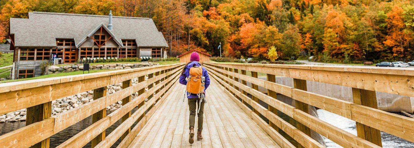 quebec national park autumn