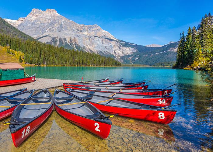 emerald lake yoho national park