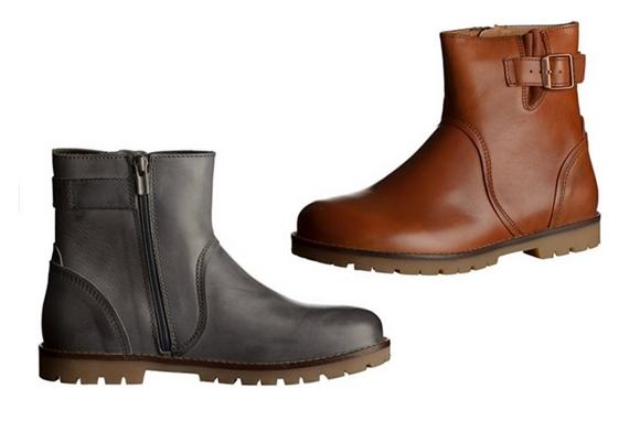 Birkenstock stowe leather boots