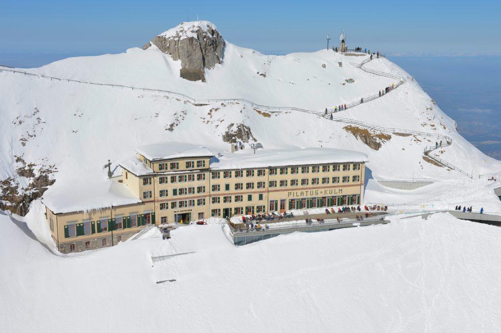 Pilatus kulm mountain hotel