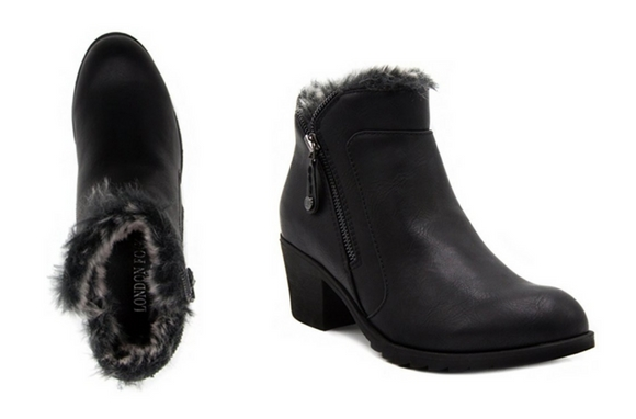 LONDON fog hester warm lined booties