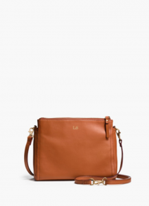 Lo & Sons The Pearl Leather Crossbody Bag & Clutch