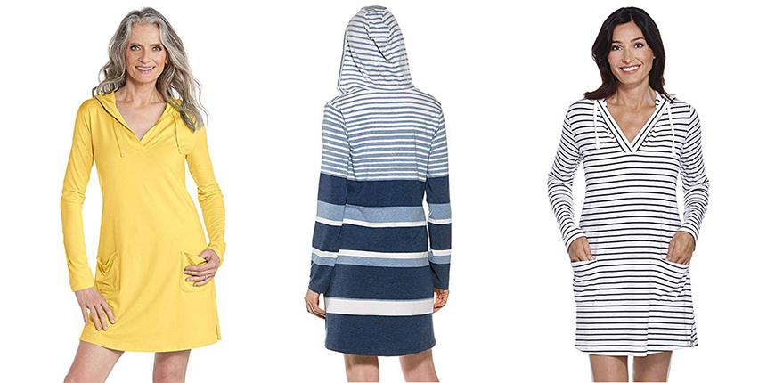 coolibar beach cover-up dress