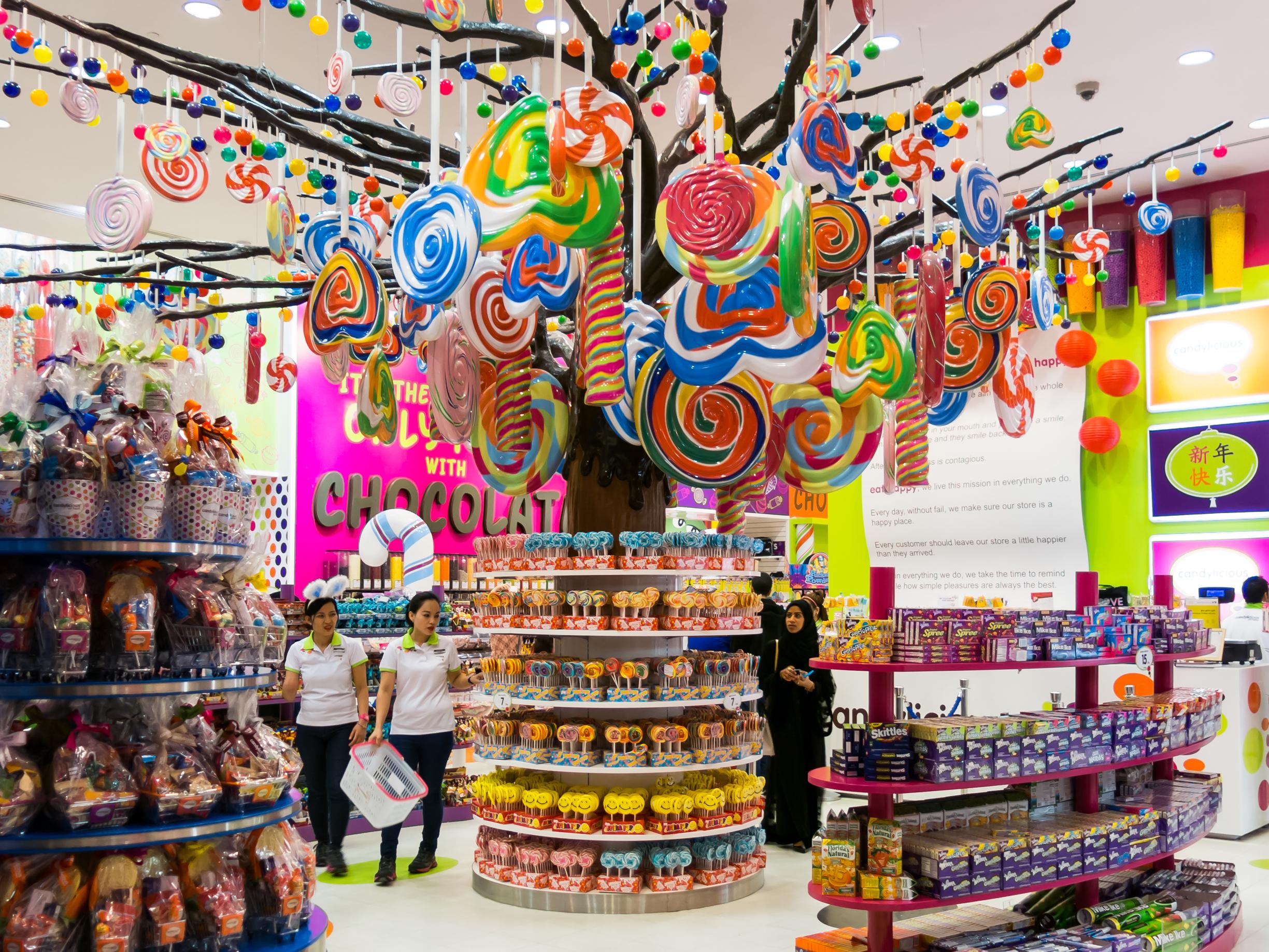 candy destinations