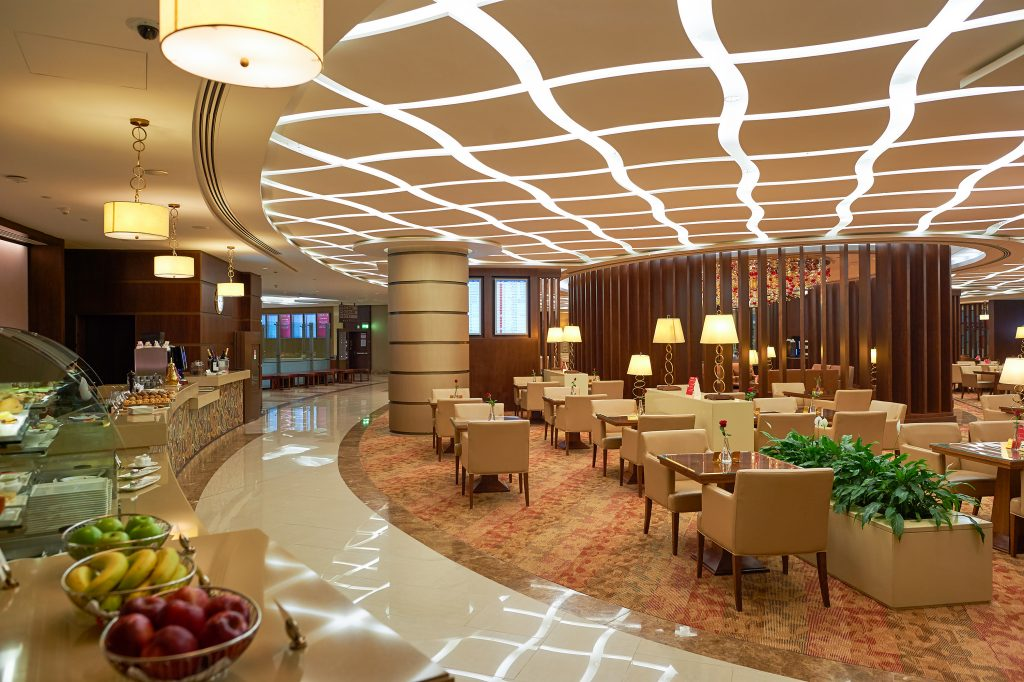 airport lounge interior