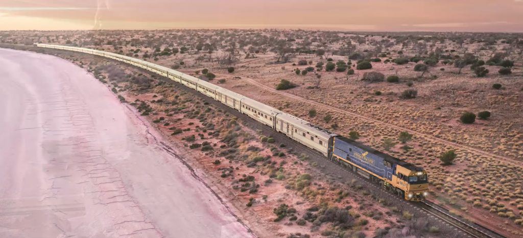 Great southern rail train journey 2