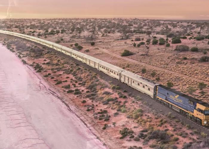 Great Southern Rail Train journey